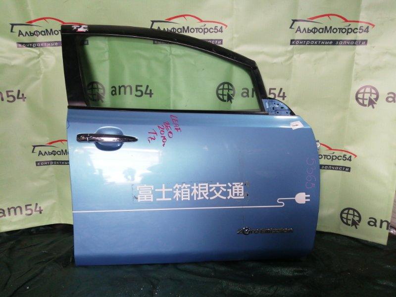 Дверь Nissan Leaf ZEO EM61 2010 передняя правая