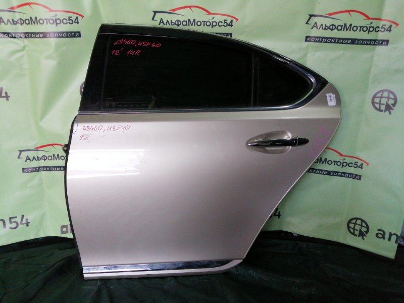 Дверь Lexus Ls460 USF40 1UR-FSE 2006 задняя левая