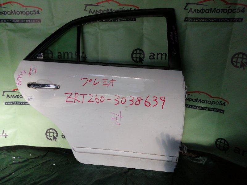 Дверь Toyota Premio ZRT260 2ZR-FE 2008 задняя правая