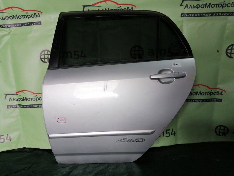 Дверь Toyota Allex NZE121 1NZ-FE 2001 задняя левая