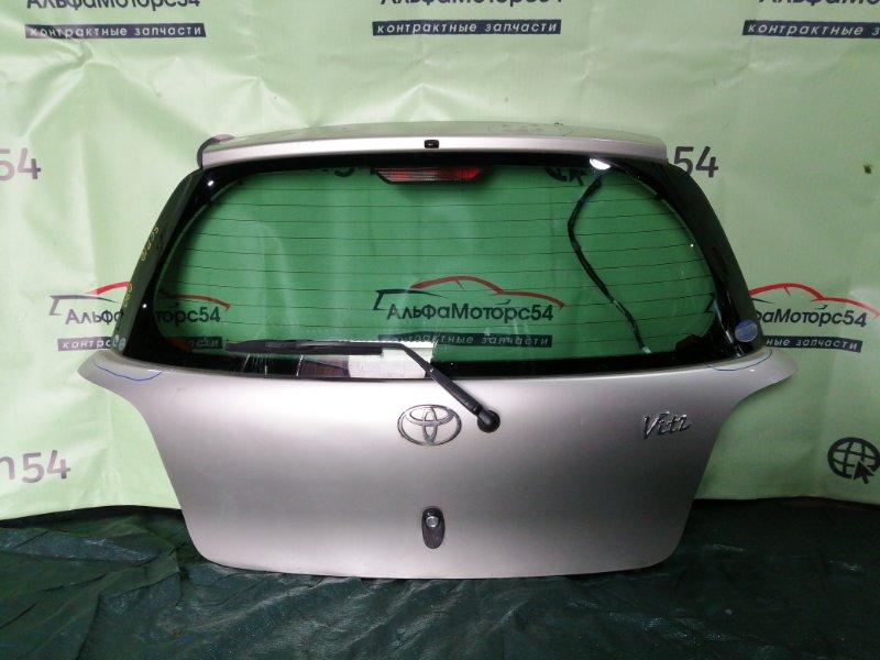 Дверь 5-я Toyota Vitz SCP10 1SZ-FE 1999 задняя