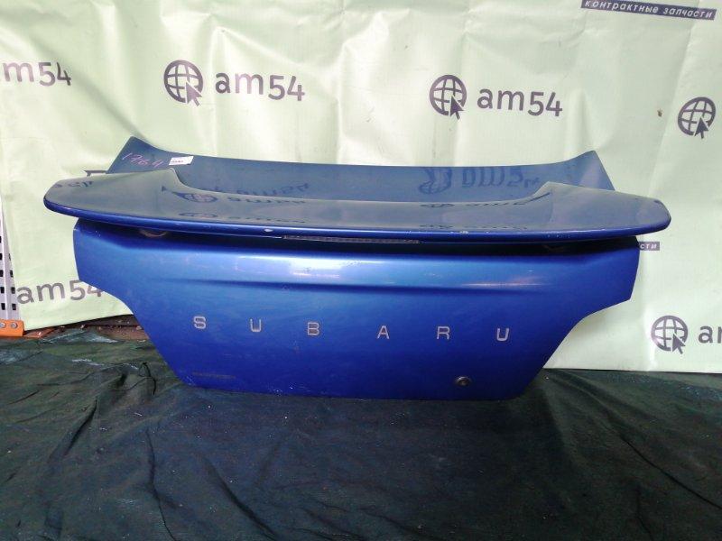 Крышка багажника Subaru Impreza GD9 EJ204 2003 задняя