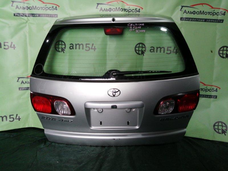 Дверь 5-я Toyota Caldina ST215 3S-FE 2001 задняя