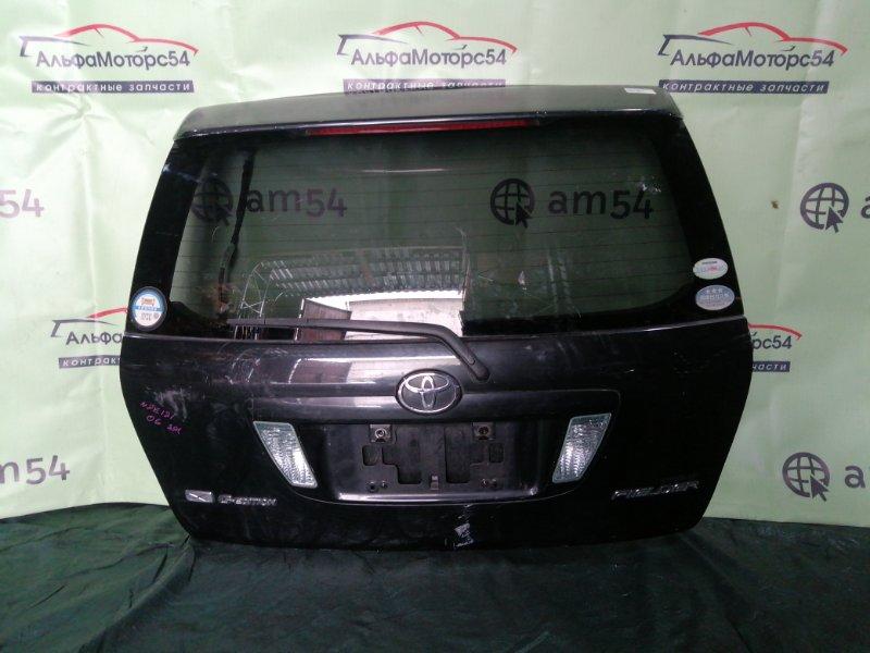 Дверь 5-я Toyota Corolla Fielder NZE121 1NZ-FE 2006 задняя
