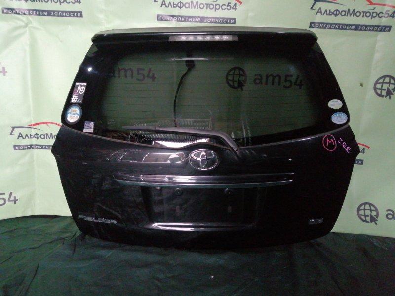 Дверь 5-я Toyota Corolla Fielder ZRE142 2ZR-FE 2008 задняя
