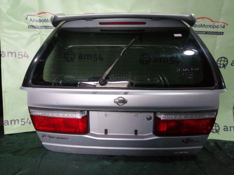 Дверь 5-я Nissan R'nessa N30 SR20DE 1997 задняя