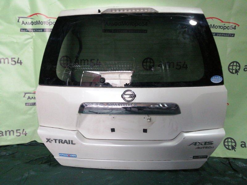 Дверь 5-я Nissan X-Trail T31 QR25DE 2008 задняя