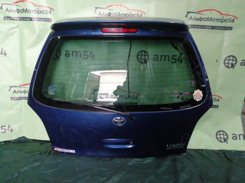 Дверь 5-я Toyota Corolla Spacio AE111 4A-FE 1999 задняя