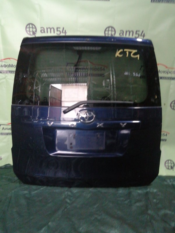Дверь 5-я Toyota Voxy ZRR70 3ZR-FAE 2008 задняя