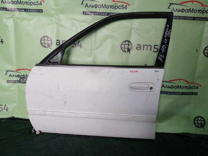 Дверь Toyota Corolla AE110 5A-FE 2000 передняя левая