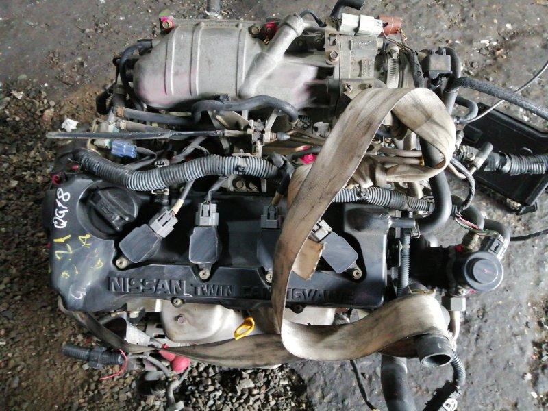 Двигатель Nissan Wingroad Y11 QG18DE 2003