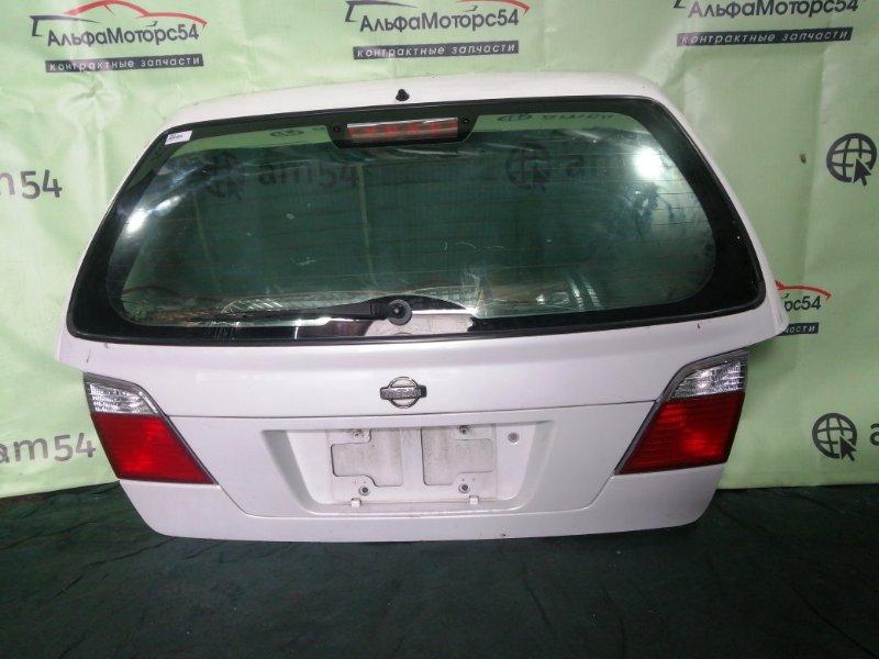 Дверь 5-я Nissan Primera W11 GA16DE 1999 задняя