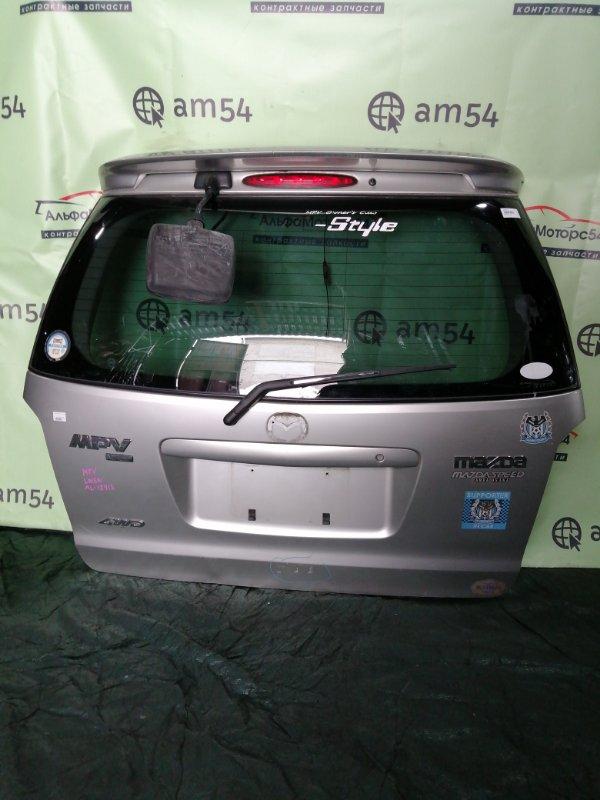 Дверь 5-я Mazda Mpv LW3W L3DE 2002 задняя