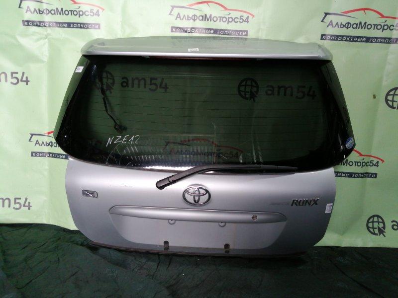Дверь 5-я Toyota Allex NZE121 1NZ-FE 2001 задняя