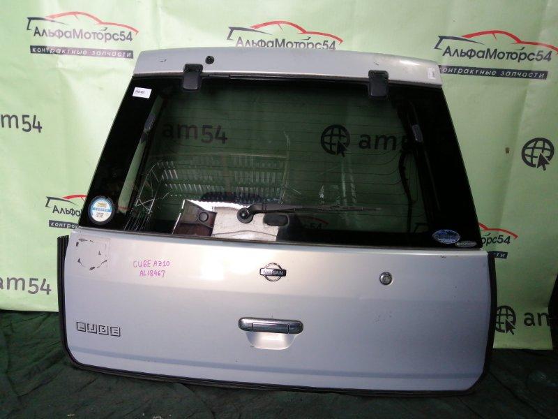 Дверь 5-я Nissan Cube AZ10 CGA3DE 2000 задняя