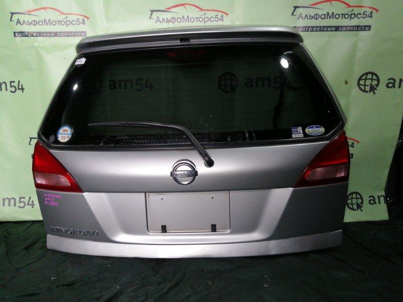 Дверь 5-я Nissan Wingroad Y11 QG15DE 2001 задняя