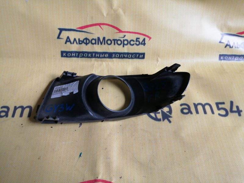 Ободок противотуманной фары Mazda Atenza GY3W L3-VE 2003 передний правый