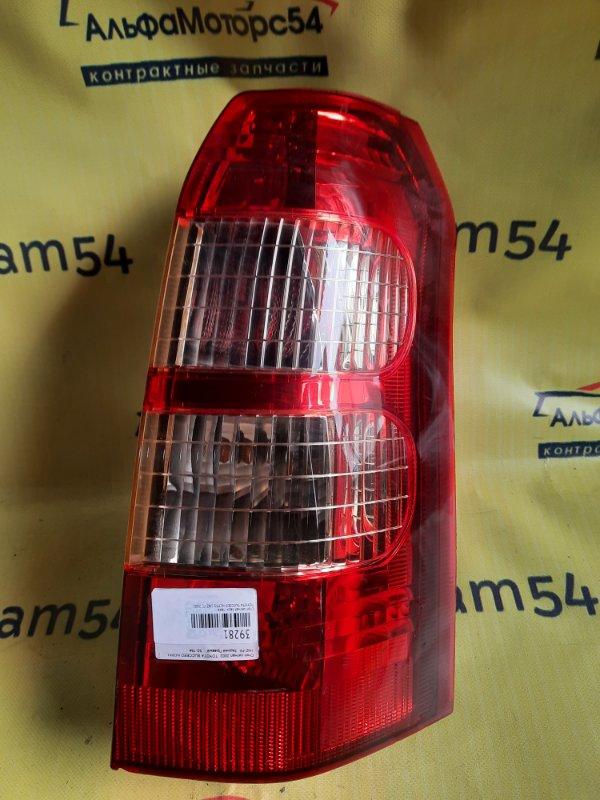 Стоп-сигнал Toyota Succeed NCP51 1NZ-FE 2002 задний правый