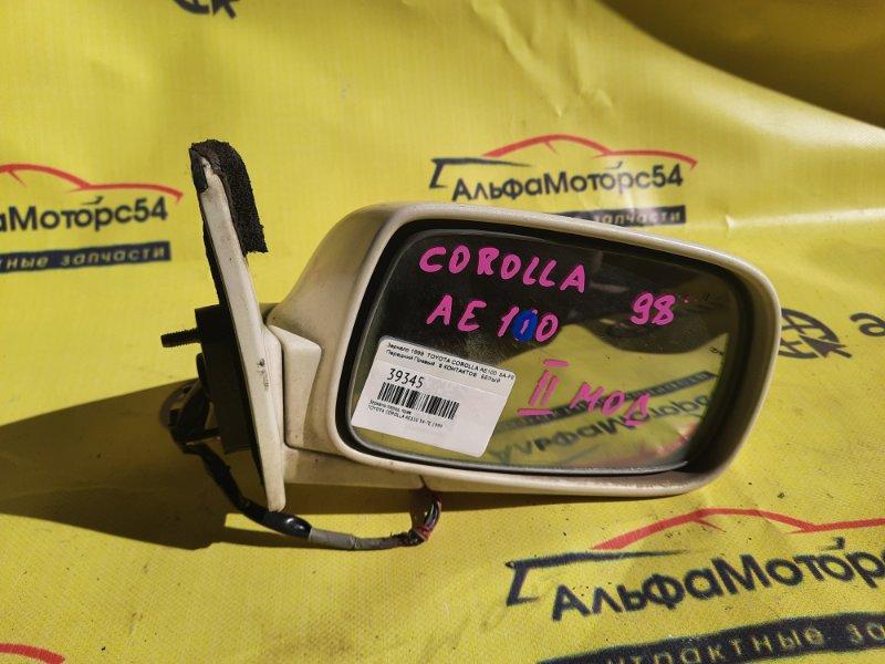 Зеркало Toyota Corolla AE100 5A-FE 1999 переднее правое