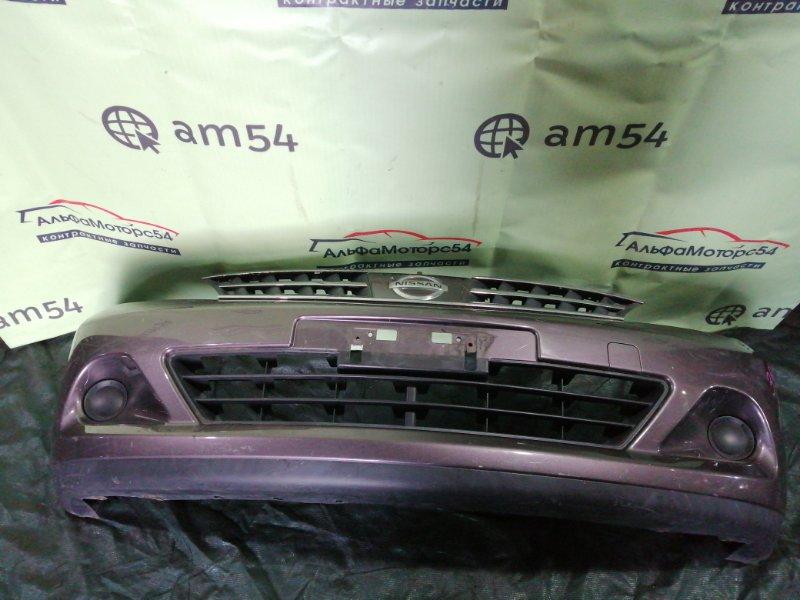 Бампер Nissan Tiida C11 HR16DE 2008 передний
