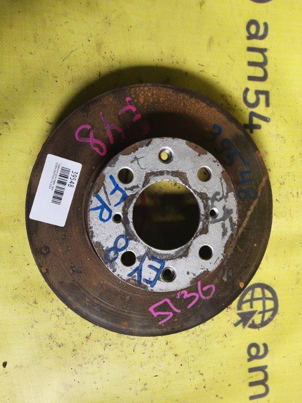 Тормозной диск Honda Partner EY8 D16A передний правый