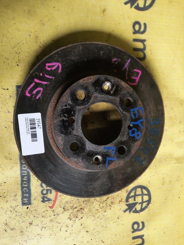 Тормозной диск Honda Partner EY8 D16A передний левый