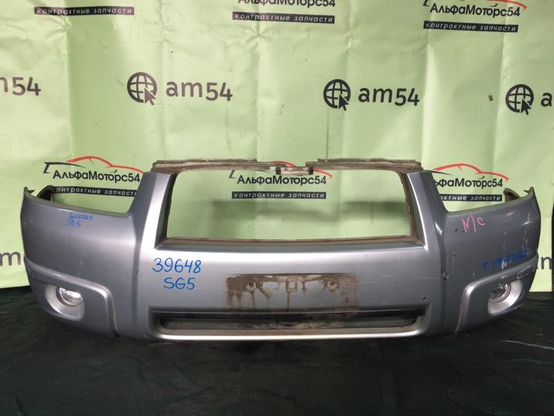 Бампер Subaru Forester SG5 EJ202 2006 передний
