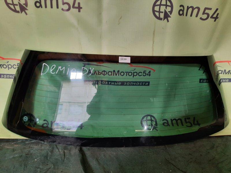 Стекло двери 5-й Mazda Demio DY3W ZJ-VE 2003 заднее