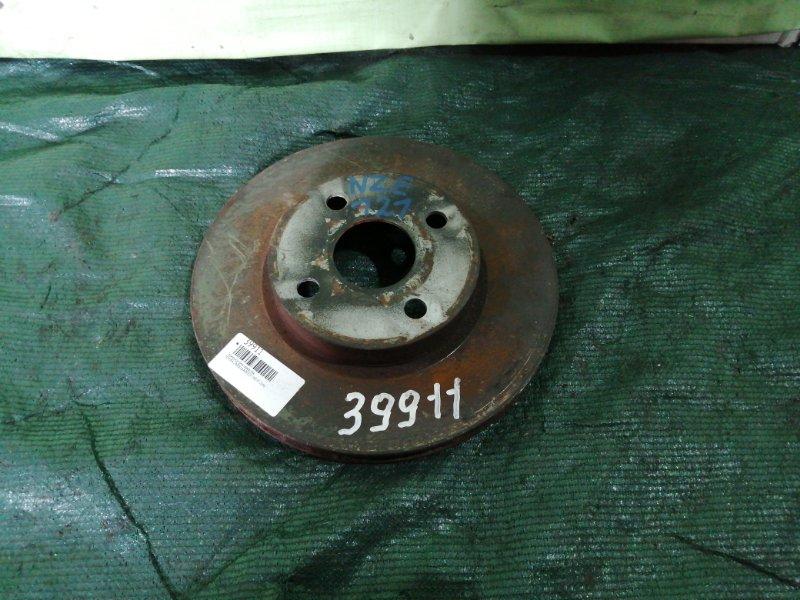Тормозной диск Toyota Corolla NZE121 1NZ-FE 2000 передний левый