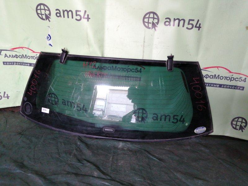 Стекло двери 5-й Nissan Liberty M12 SR20DE 2002 заднее