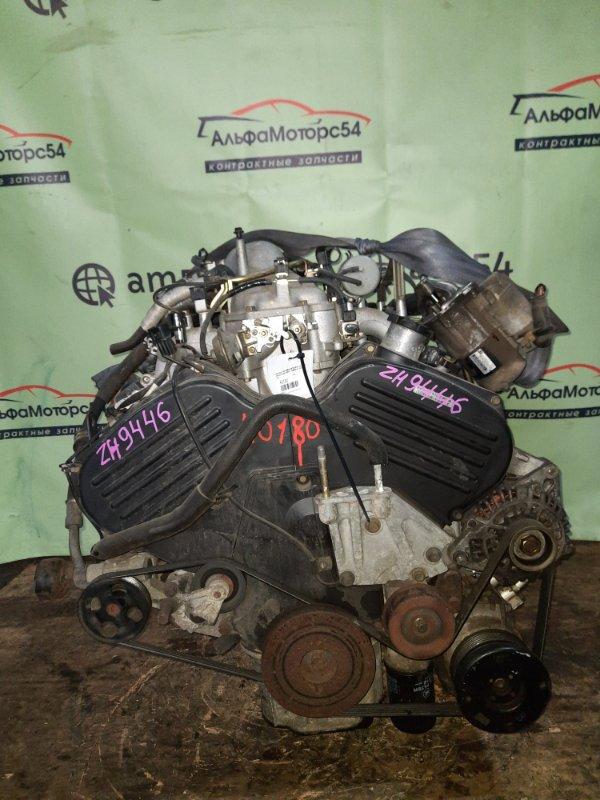 Двигатель Mitsubishi Chariot Grandis N96W 6G72 1999