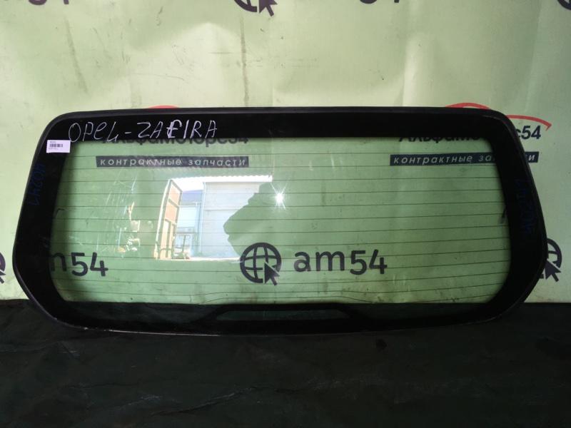 Стекло двери 5-й Opel Zafira F75 Z18XE 2001 заднее