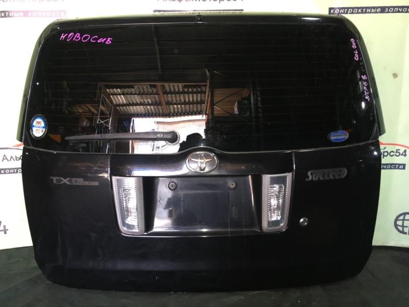 Дверь 5-я Toyota Succeed NCP58 1NZ-FE 2005
