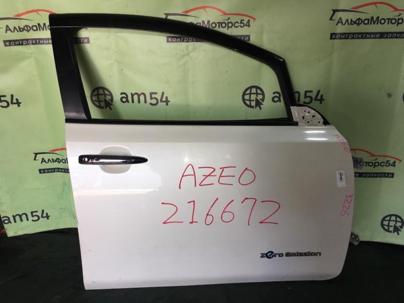 Дверь Nissan Leaf AZEO EM57 2013 передняя правая