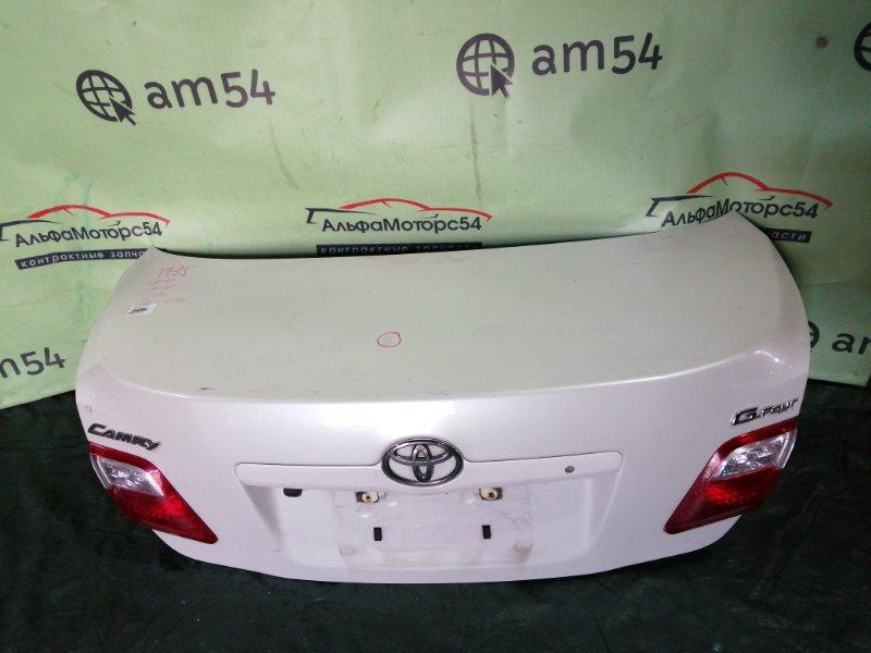 Крышка багажника Toyota Camry ACV45 2AZ-FE 2007 задняя