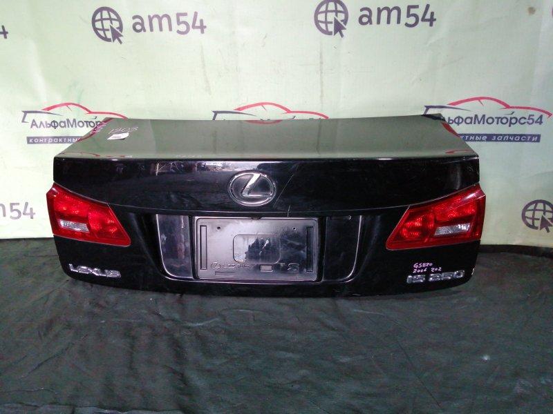 Крышка багажника Lexus Is250 GSE20 4GR-FSE 2007 задняя