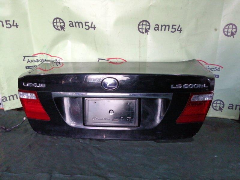 Крышка багажника Lexus Ls600 UVF46 2UR-FSE 2007 задняя