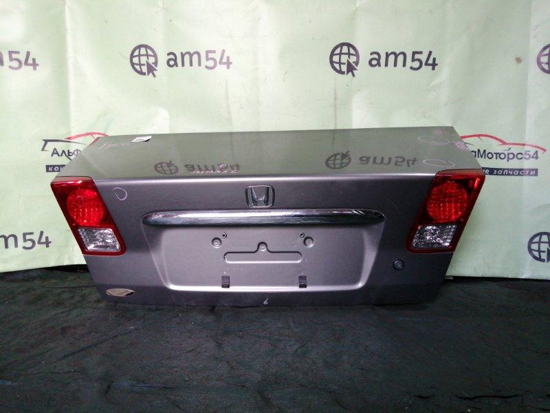Крышка багажника Honda Civic ES9 LDA 2004 задняя