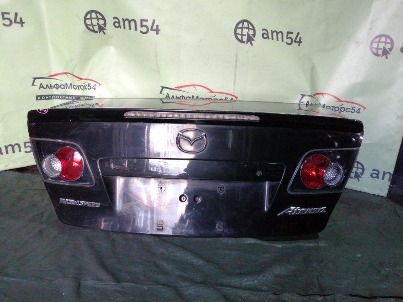 Крышка багажника Mazda Atenza GG3P L3-VE 2005 задняя