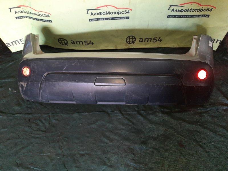 Бампер Nissan Qashqai J10 MR20DE 2008 задний