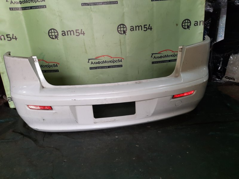 Бампер Mitsubishi Galant Fortis CY4A 4B11 2008 задний