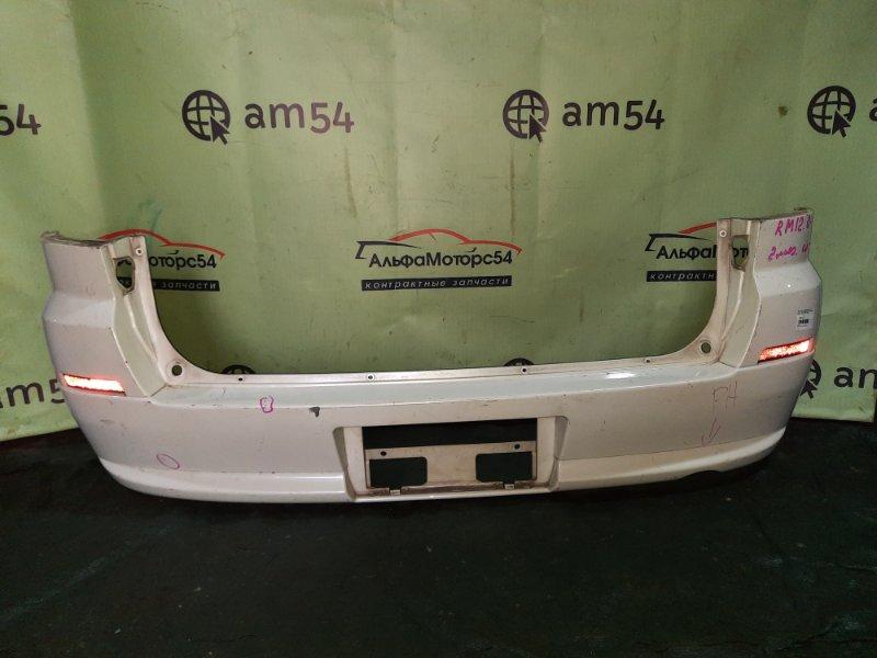 Бампер Nissan Liberty M12 SR20DE 2004 задний