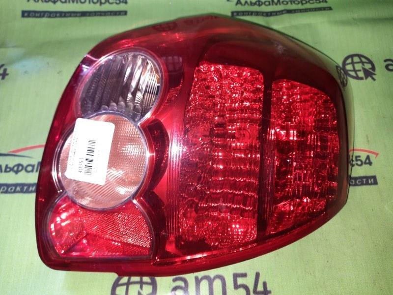 Стоп-сигнал Toyota Auris NZE151 1NZ-FE 2006 задний правый