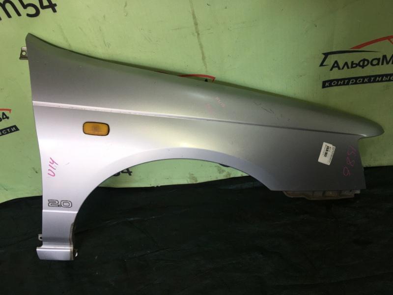Крыло Nissan Bluebird U14 SR18DE 1998 переднее правое