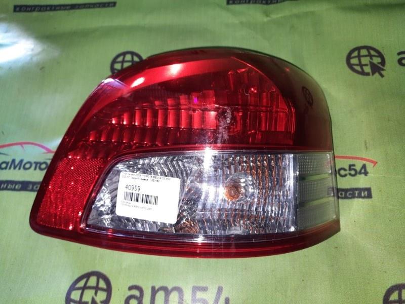 Стоп-сигнал Toyota Belta KSP92 1KR-FE 2009 задний правый