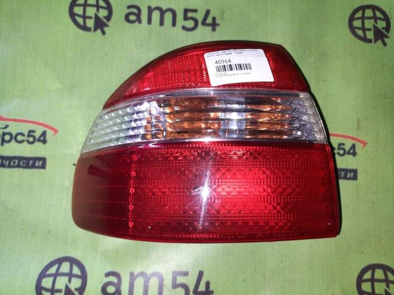 Стоп-сигнал Toyota Corolla AE110 7A-FE 1998 задний левый