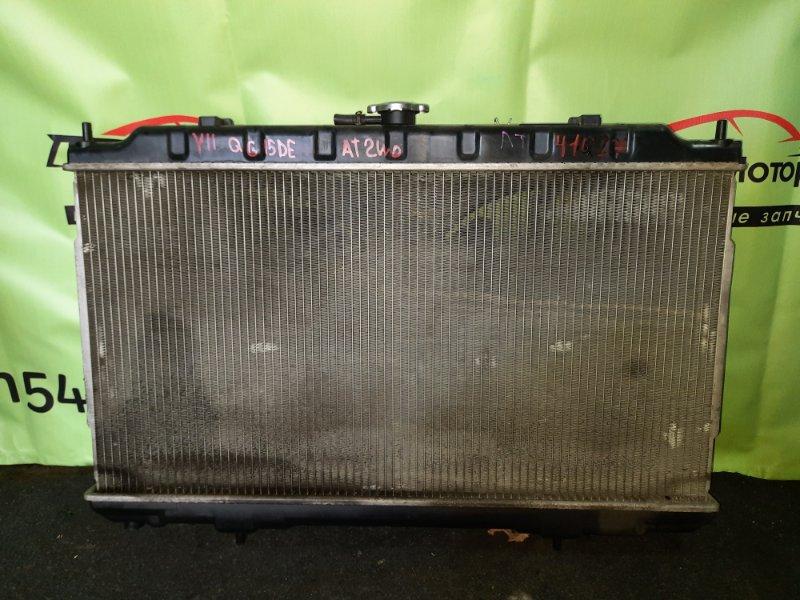 Радиатор основной Nissan Wingroad Y11 QG15DE 2002