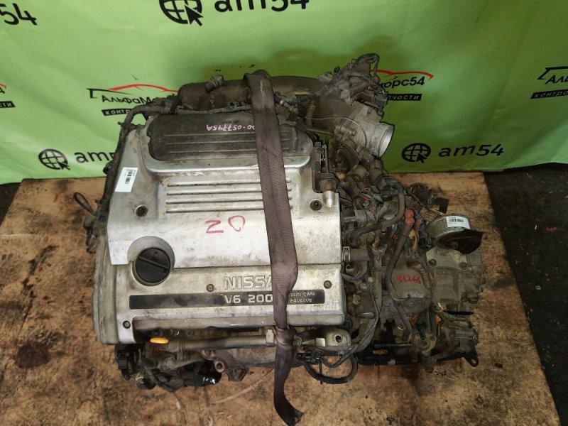 Двигатель Nissan Cefiro A32 VQ20DE