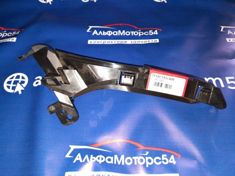 Кронштейн крепления бампера Honda Cr-V RE3 K24A 2007 передний правый