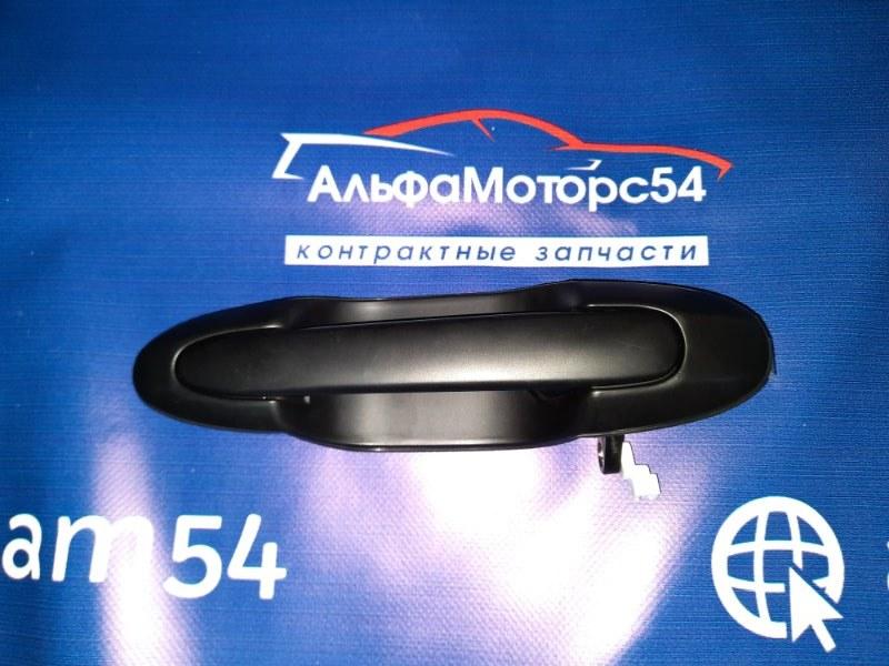 Ручка двери внешняя Mazda Mpv LWFW AJ-DE 2003 задняя левая